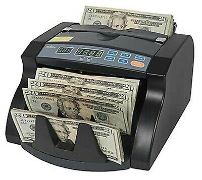 Royal Sovereign Bill Money Cash Counter Machine Currency Sorting Machine
