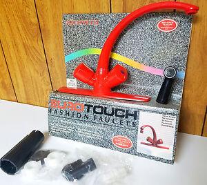 red kitchen faucet ebay aquasource chrome 2 handle low arc kitchen faucet with
