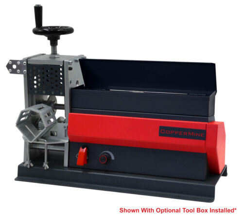 Copper Wire Stripping Machine Motorized Cable Wire Stripper Table Top Machine
