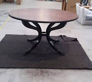 Coco Republic Solid Ashwood Clawfoot dinning table RRp $4299 Turrella Rockdale Area Preview