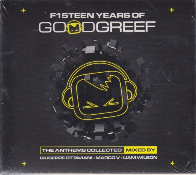 F15teen Years of Goodgreef - Ottaviani - Marco V - Liam Wilson (3 CDs,NEU! OVP)