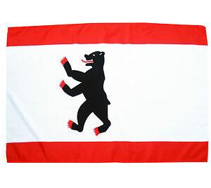 Fahne BERLIN MIT WAPPEN 90x150 NEU & OVP Flag Bundesland Berlin BRD