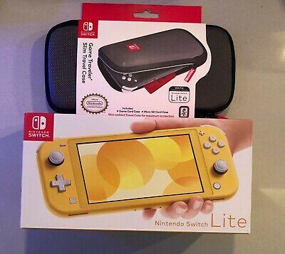 Nintendo Switch Lite Yellow Handheld Console Brand New FREE CASE