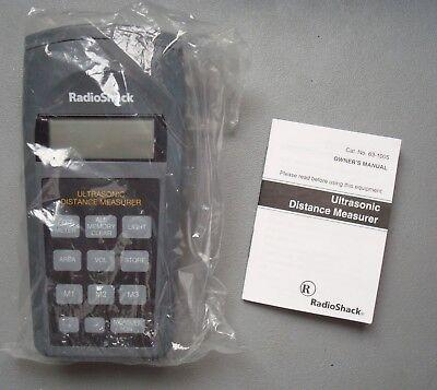 Radio Shack Ultrasonic Distance Measurer 63-1005 - Free Us Shipping
