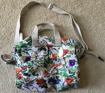 KIPLING Baby Diaper Floral Nursery Large Shoulder Bag Tote Bag