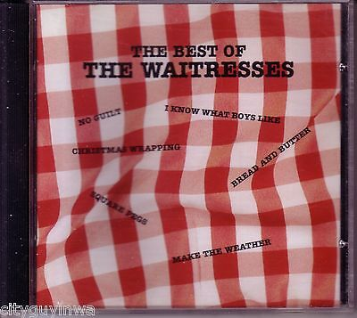 Best of the WAITRESSES 1990 CD 80s I Know What Boys Like Square Pegs Theme Song - Themes Of The 80s