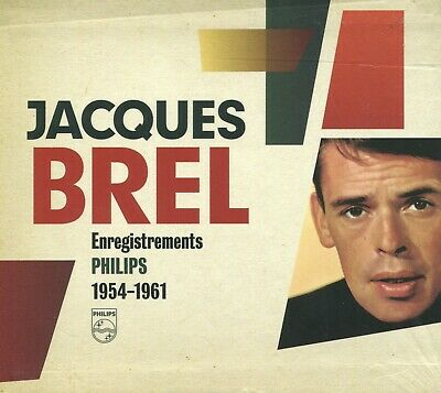 Jacques Brel : Enregistrements Philips 1954 - 1961 (5 CD)
