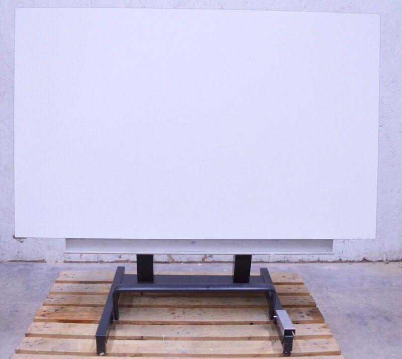 "Arto Grimbergen Belgium 60"" x 37"" Adjustable Lift Drafting Table Drawing"