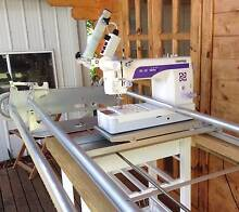 John Watt's Quilting Frame and Janome 1600P Quilting Machine South Kolan Bundaberg Surrounds Preview