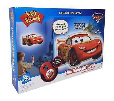 Uncle Milton Wall Friends Lightning McQueen Cars Pixar Disney Kids Wall Light