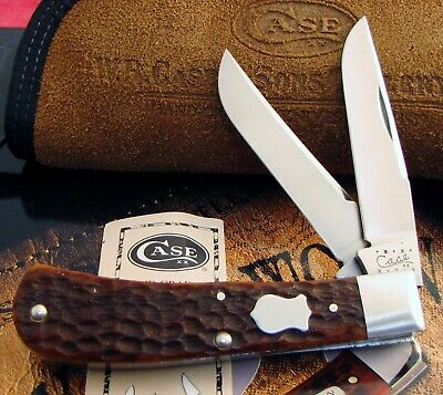 Case Tony Bose DELUXE Barehead Trapper Knife 2000 Issue ATS-34 Awesome AAA+ NR