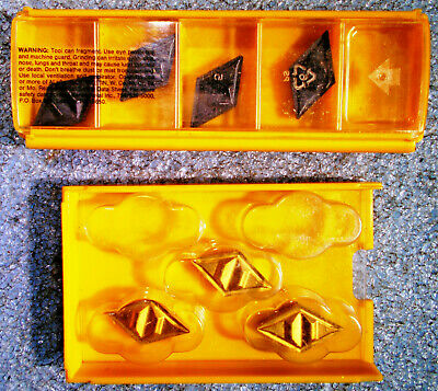 New Kennametal Dpgr 432 431 Dcgr 150408 150404 Carbide Indexable Insert 7 Pieces