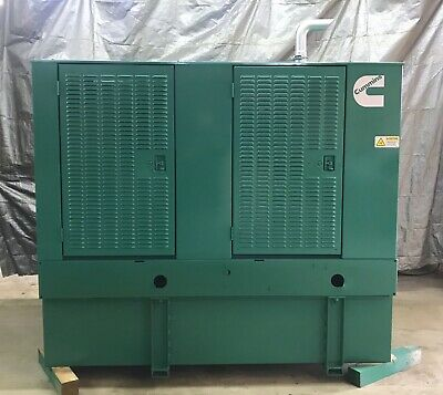 50 Kw Diesel Generator Cummins Diesel 4bt3.9 120240 Re-connectable 1 Or 3 Phase