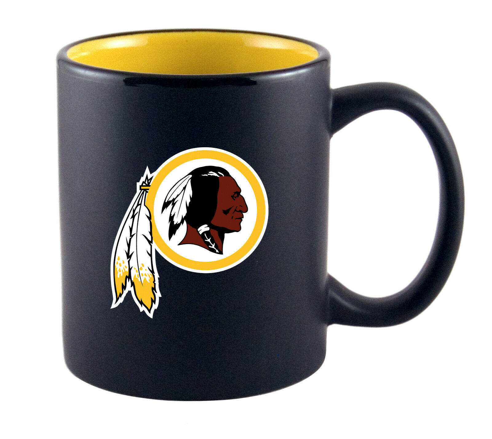 NFL Kaffeetasse Washington Redskins Two Tone Becher Tasse Coffee Mug Football