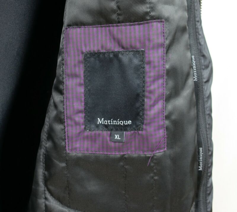 MATINIQUE MENS WOOL FILLED PEA COAT size XL