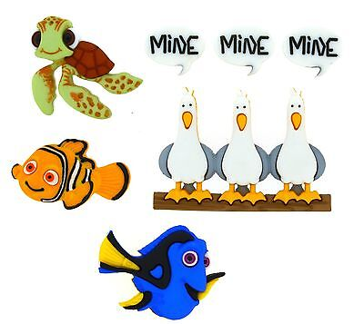 Jesse James Dress It Up Buttons ~ LICENSED - DISNEY FINDING NEMO ~ Sew~ Crafts - Finding Nemo Dress