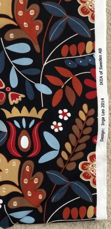 "Ikea Fabric Inga Leo 2014  60"" x 69"""