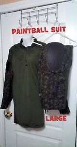 PAINTBALL Digi Camo 2 PIECE SUIT: Mens Size Large (32-38)