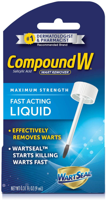 Compound W Maximum Strength Fast Acting Liquid Wart Remover,