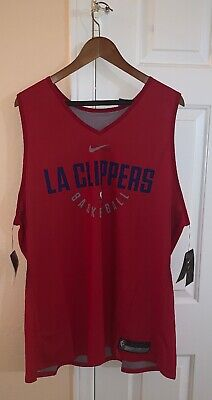 Nike NBA AUTHENTIC LA Clippers Player Issue Practice Jersey Reversible 3XLT