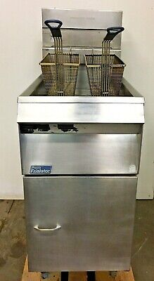 Pitco Frialator Sg14-s Fryer Used - We Ship