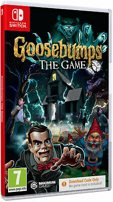 Goosebumps [Code In A Box] (Switch)  BRAND NEW AND SEALED - IN STOCK