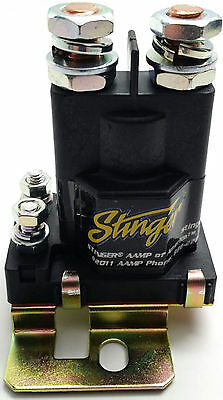 STINGER SGP38 AMP BATTERY ISOLATOR AND AUDIO RELAY SGP38 80 AMP CAR AUDIO 12V