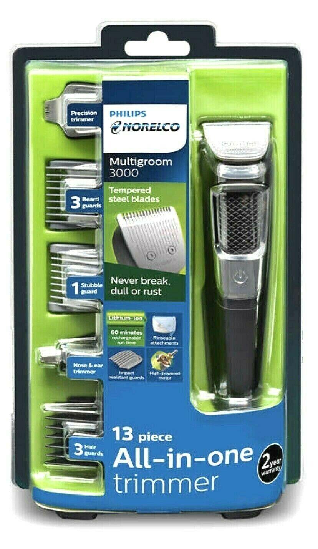 Philips Norelco Multi Groomer MG3750/50 - 13 piece, beard, f