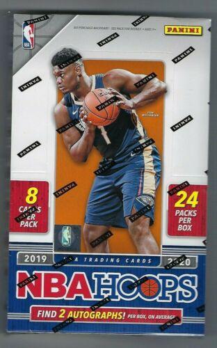 2019-20 Panini Hoops Basketball Hobby Box New