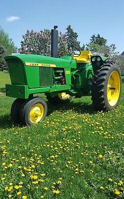1970 John Deere 2520 tractor actual hours nice antique collector