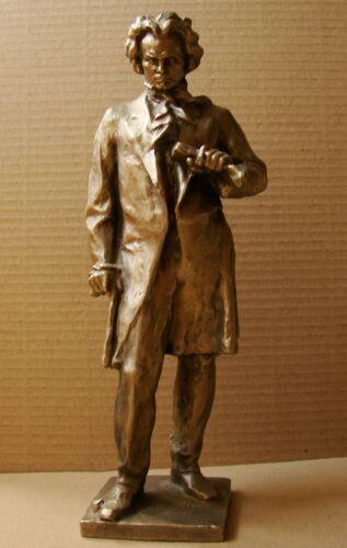 Russian Soviet Sculpture bust statue figure metal Beethoven music