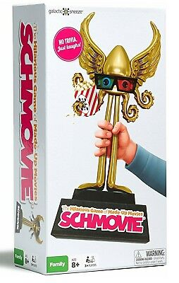 NEW Schmovie Hilarious Game of Made-Up Movies Best Family Party Board Games for