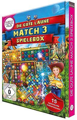 Die gute Laune 3 - Gewinnt-Spielebox  (Purple Hills)   PC    !!!!! NEU+OVP !!!!!