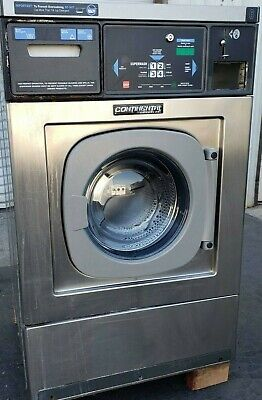 Continental Girbau Front Load Washer 20lb Coin Op 120v 60hz 1ph Sn1432490a08