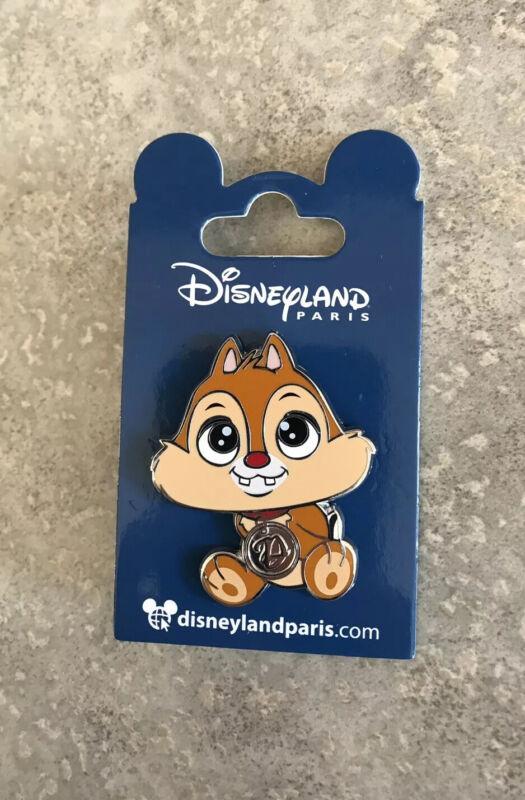 DLRP DLP Disney Land Paris Big Head Dale Pin Chip And Dale Rescue Rangers Minis
