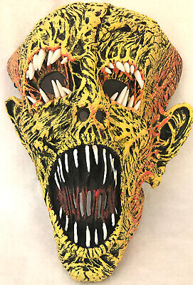 Authentic Halloween Masks (Authentic CLIVE BARKER'S 2010 Disguise Mask Teeth Torment)