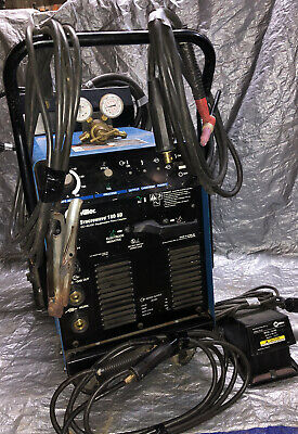 Miller Syncrowave 180 Sd Welder Foot Pedal Torchcables Gauges. Ready To Weld