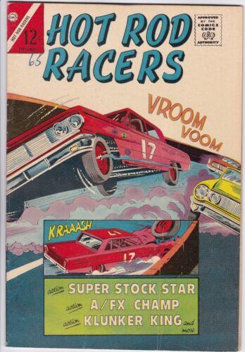 HOT ROD RACERS # 5 CHARLTON - CHARLES NICHOLAS & BILL FRACCIO art