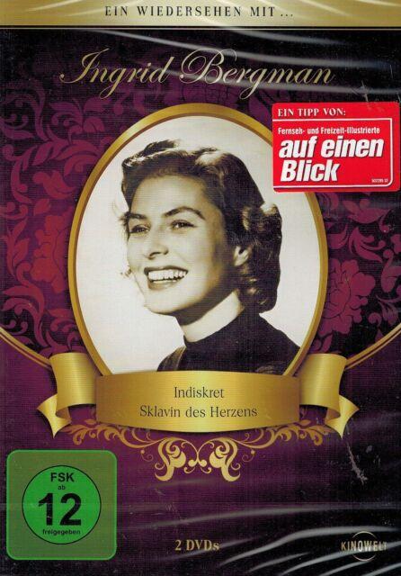 DOPPEL-DVD - Ein Wiedersehen mit Ingrid Bergman - Indiskret, Sklavin des Herzens