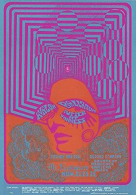 Janis Joplin Big Brother 1967 FD 93 ORIGINAL/MINT Avalon Ballroom Poster