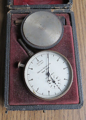 Vintage George Scherr Revolution Gauge Meter - Swiss