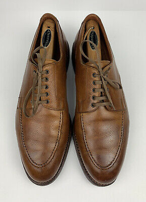 Crockett & Jones x Polo Ralph Lauren Oxford Tan Grain Leather Men US Size 10.5