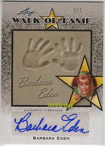 2011-POP-CENTURY-WALK-OF-FAME-AUTO-BARBARA-EDEN-3-5-AUTOGRAPH-DREAM-OF-JEANNIE
