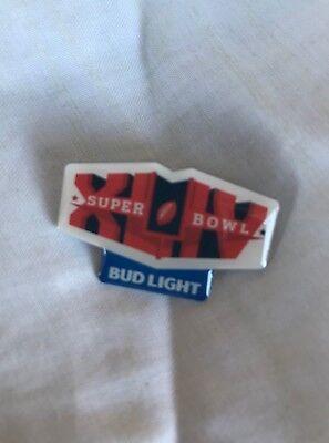 New Bud Light Super Bowl XLIV Pin SB44 Saints Colts
