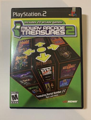 Midway Arcade Treasures 2 Sony PlayStation 2, 2004  - $13.00