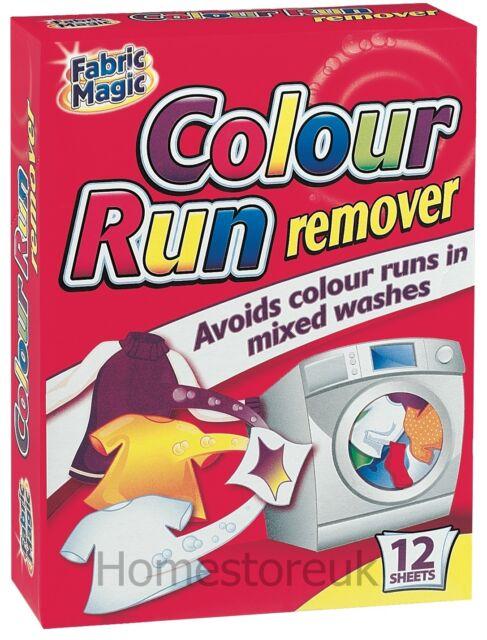 12 SHEET COLOUR RUN CATCHER REMOVER SACHETS MIX CLOTHES MACHINE WASH FABRIC 003