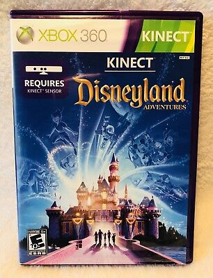 Disneyland Adventures Kinect Xbox 360 Game Requires Kinect Sensor for sale  Shipping to India