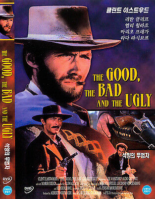 The Good  The Bad  And The Ugly  1966  New Sealed Dvd Clint Eastwood
