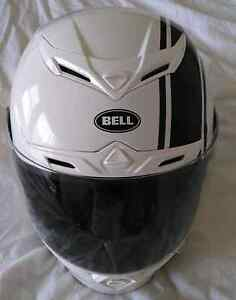 Bell RS-1 Motorcycle Helmet Size 14 White almost new Mount Waverley Monash Area Preview