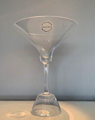 Rare Gaia & Gino Happy People Handmade Karim Rashid Martini & Sake Glass